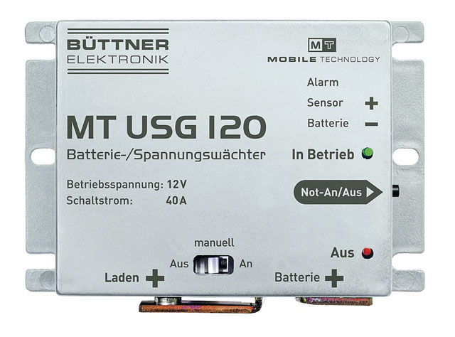 12v agm batterie laden
